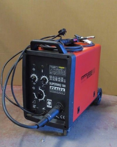 Sealy Supermig 180 - Professional Mig Welder 180A 230V With Torch MB 15AK